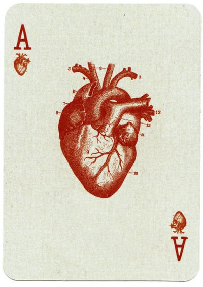 iliveforaliving:    Ace of Hearts.