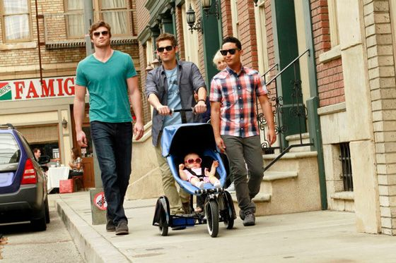 """What a group of cutie pies ;) Watch """"Baby Daddy"""" every Wednesday night on ABC Family!"""