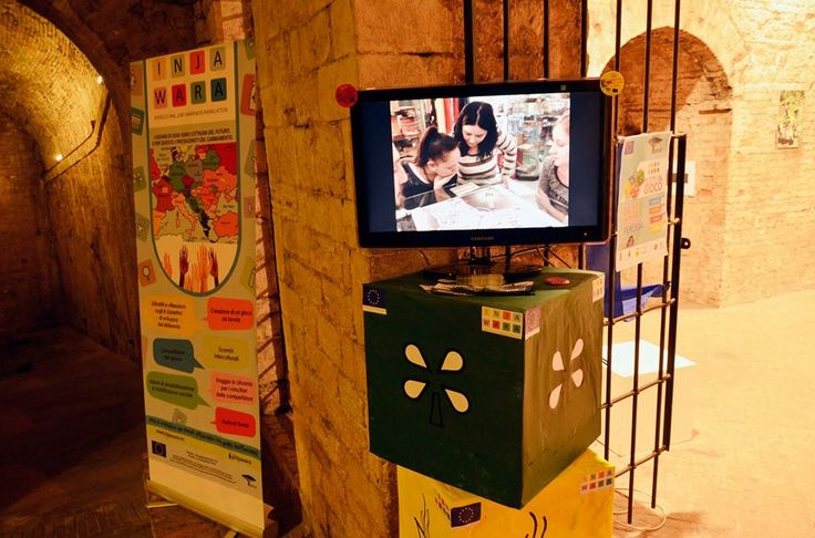 Tamat's workstation - La postazione di Tamat all'interno della Rocca Paolina