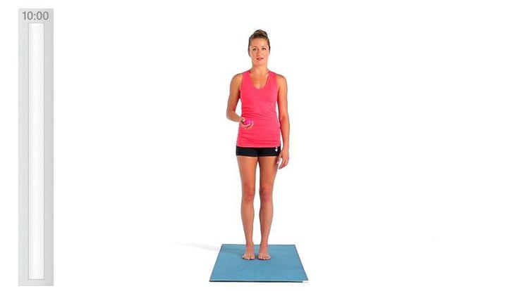 Få trinvis videoinstruktion af eksperter til Pilates på farten for at forbedre Fleksibilitet, Mobilitet. Få en detaljeret workoutopdeling, og find relaterede workoutøvelser