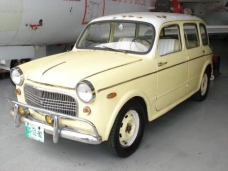 Fiat 1100 giardinetta del 1960