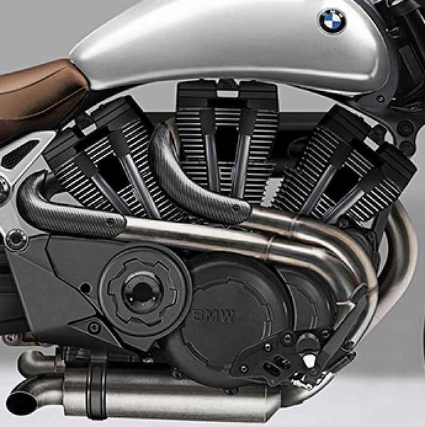 """Looks like BMW may be bringing back the triple. However, unlike the inline-3 engines it had on their K-series """"flying brick"""" bikes of the 80's, this new engine may have a W configuration ( the piston orientations form the shape of a W) #eatsleepride #motorcycles #BMW"""