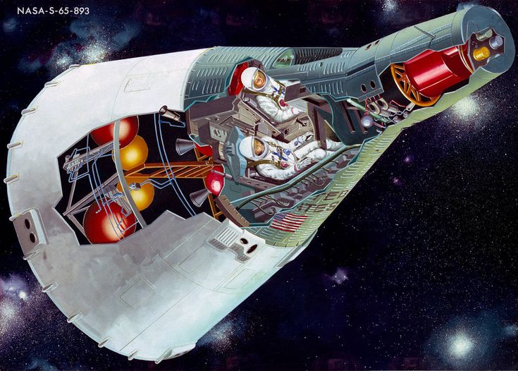 Nasa daily picture for January 03: From Mercury Mark II to Project Gemini