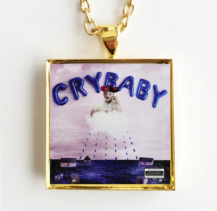 Melanie Martinez - Cry Baby - Mini Album Cover Pendant Necklace