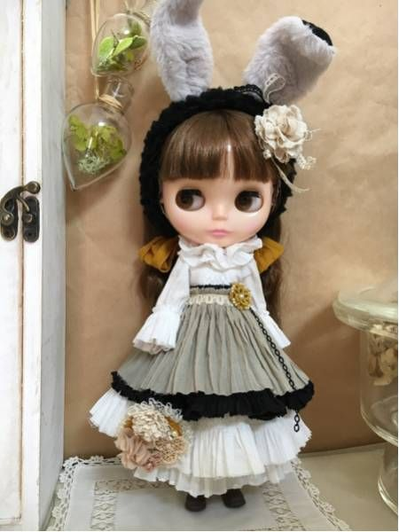 *Blythe outfit*chic dresses**ayameya**_画像1
