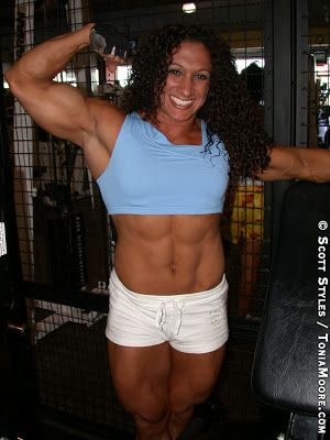 Mulheres Fortes e Musculadas