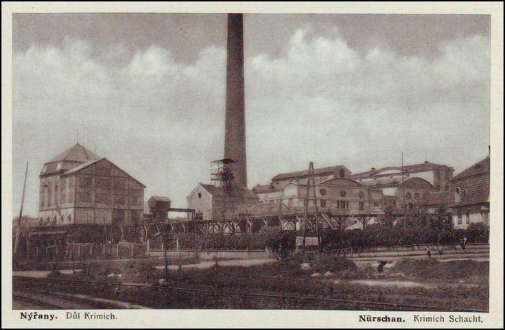 1928 Důl Krimich. Schacht Krimich.