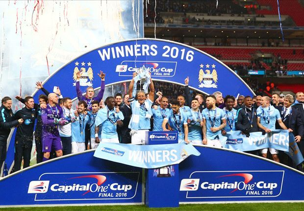 Manchester City - Champion of League Cup 2016