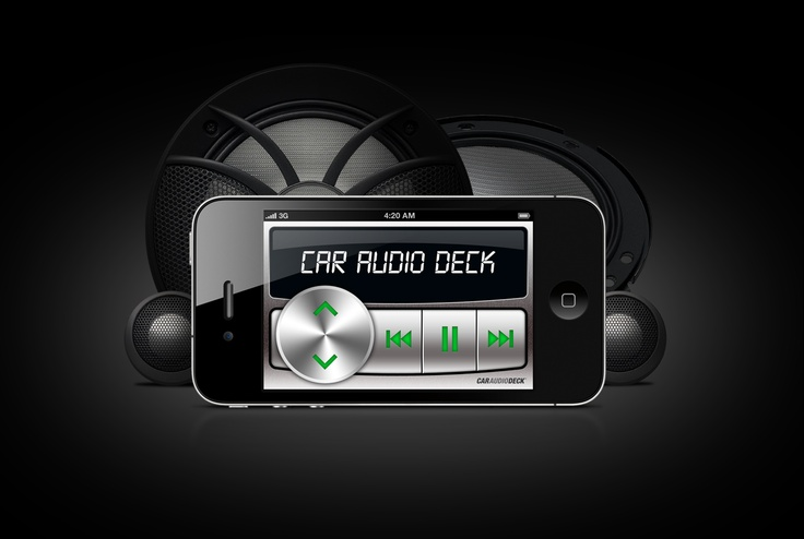 Car Audio Deck for iPhone & iPod touch.    #app #iphone #car #audio #deck