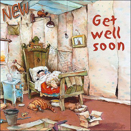 Get well soon | Marius van Dokkum - Art Revisited
