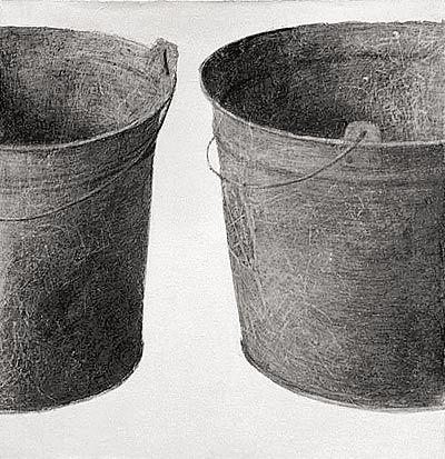 Ведро II. 60×60 см