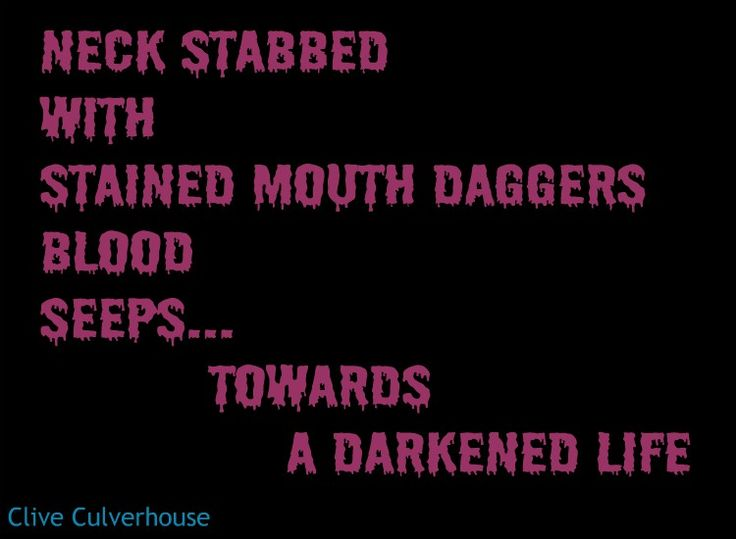 Poetry, Micropoetry -  vampire, Dracula, Gothic, Steampunk, horror, Twilight, Van Helsing