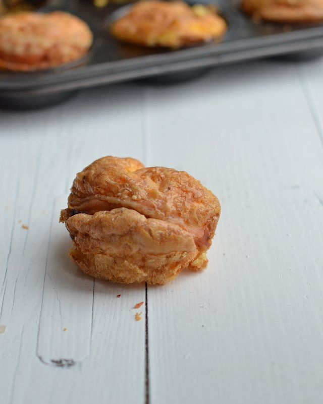 bacon ei muffins - Bacon Egg Muffins