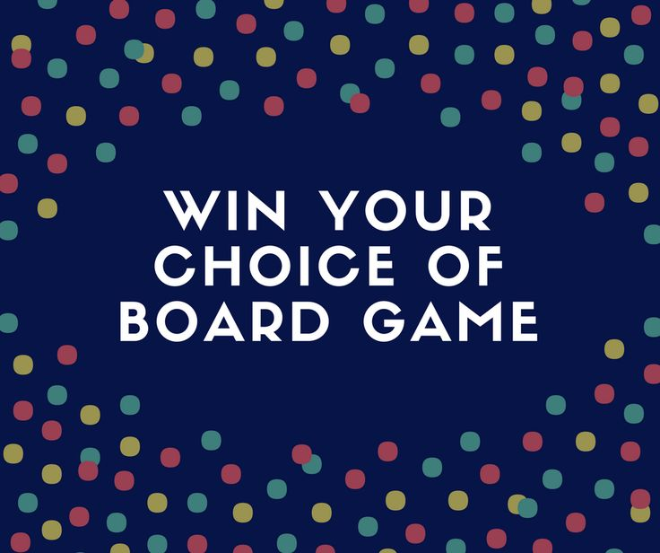 Top Board Games For Easter Half Term Giveaway