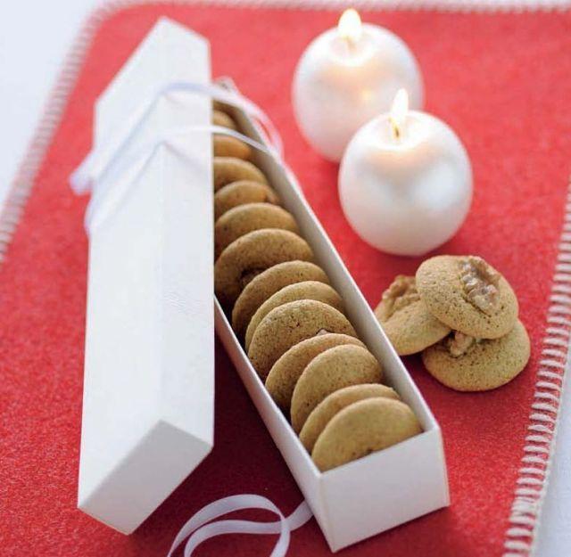 Biscotti integrali allo zenzero e noci