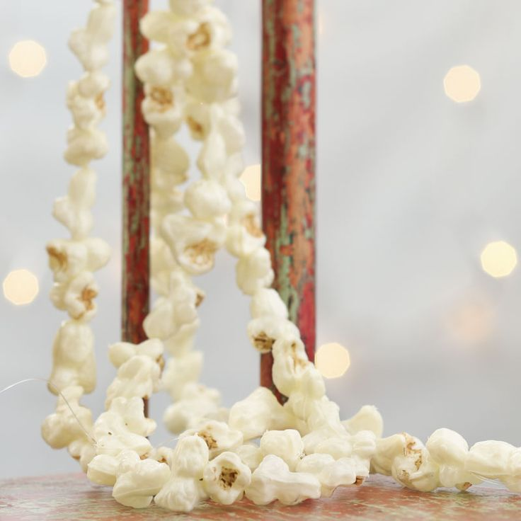Artificial Popcorn Garland