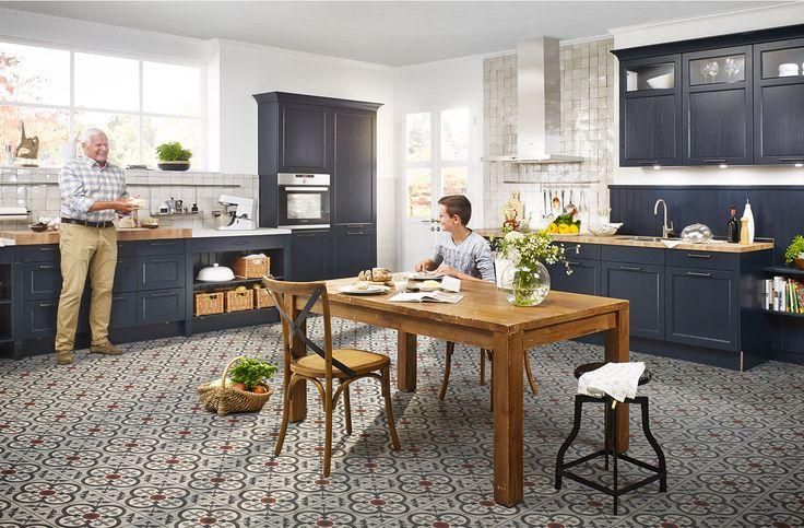 6000 Velvet blue lacquer - Häcker Küchen - Häcker Küchen CON - häcker küchen frankfurt