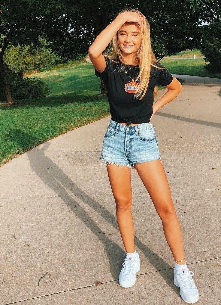 Die besten Jeansshorts, damit du perfekt aussiehst – Seite 2 von 5 – #Denim #Page #per …   – Daily DIY by Hannah