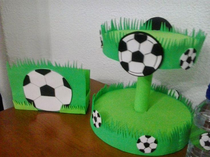 decoración de fiestas temáticas de futbol - Buscar con Google