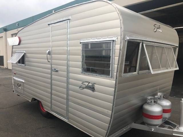 We Are Selling This Beautifully Rebuilt 1958 Shasta Airflyte The