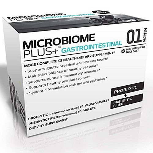 Microbiome Plus+ Gastrointestinal is a nutritional supplement specially formulated to support your gastrointestinal health.