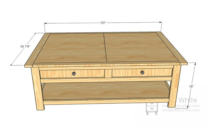 Ana White | Build a Mom's Train Table | Free and Easy DIY Project and Furniture Plans. Even more sq space than Thomas table.  Can put cubes under for tracks, trains, decorations etc,