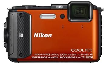 The beach destination camera: Nikon COOLPIX AW130