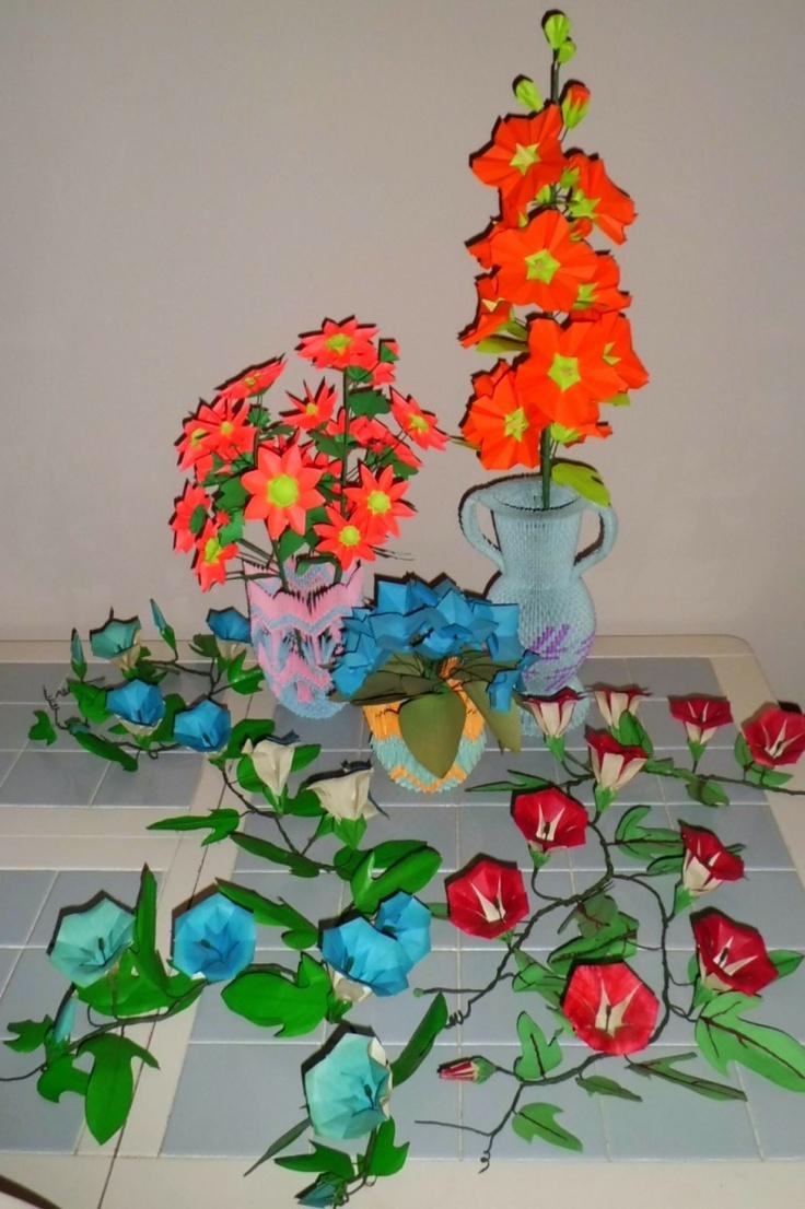 180 best 3 d origami art images on pinterest modular origami david foos album 3d origami art floridaeventfo Image collections