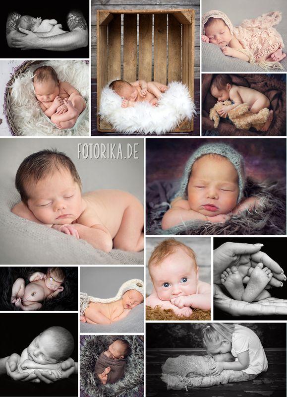 geschenkideen mit babyfotos