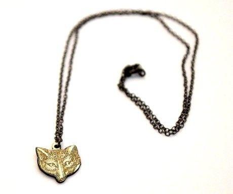 Fox Enamel Necklace by Grainne Morton http://www.culturelabel.com/products/Fox-Enamel-Necklace/