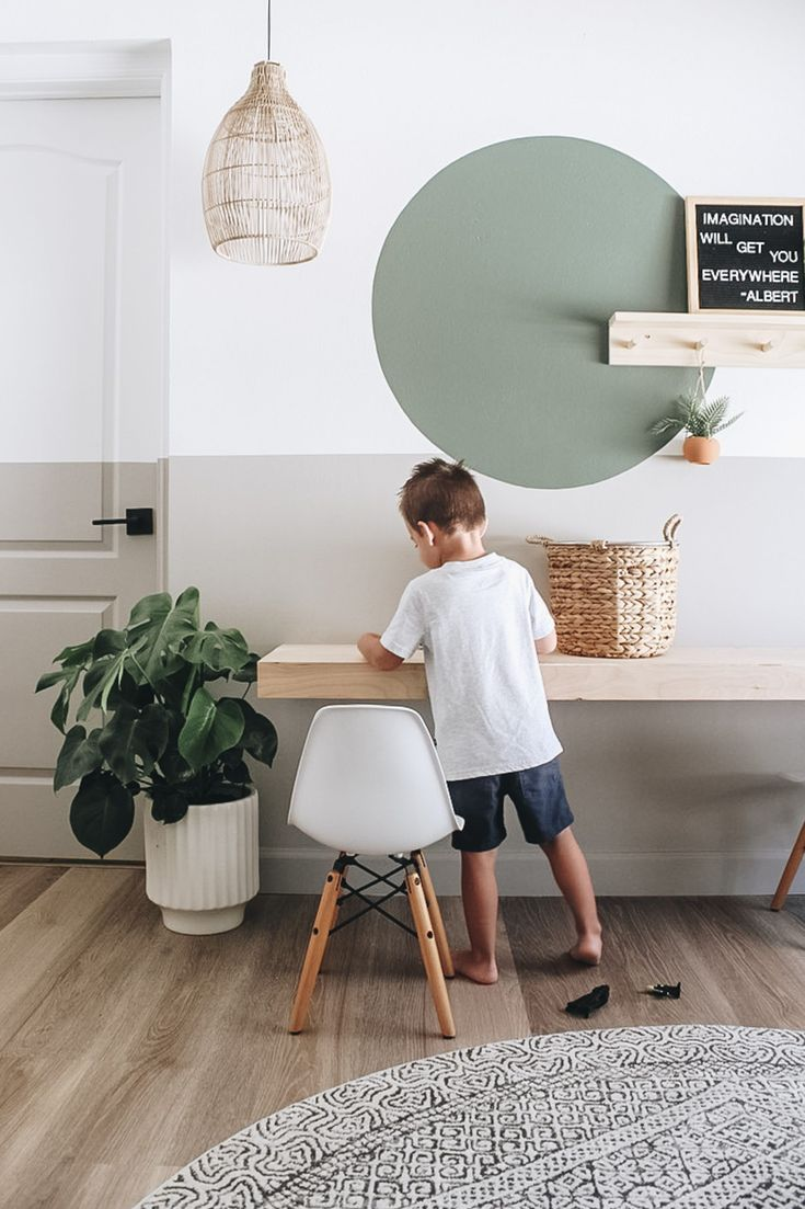 Diy floating desk within the grove in 2020 floating