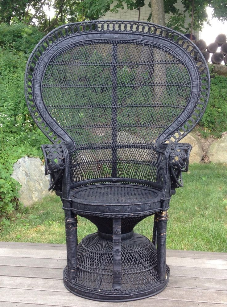 104 best images about peacock chair on pinterest boho black magic woman and wicker - Pier one peacock chair ...