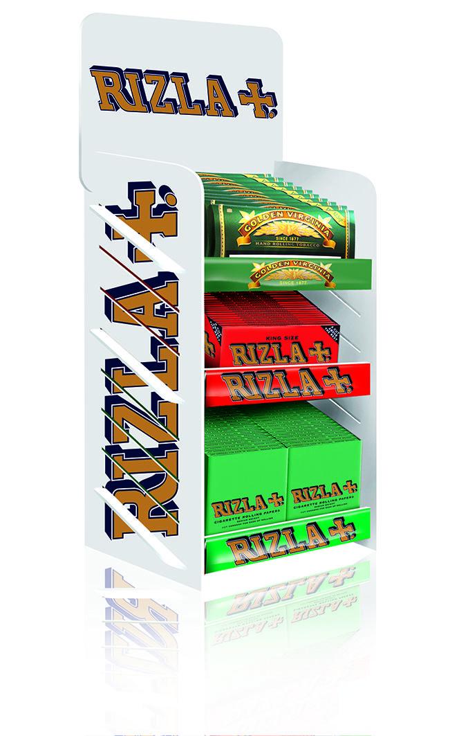 Rizla Counter Unit