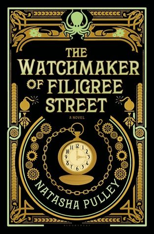 """The watchmaker of Filigree Street"" Natasha Pulley - 1883. Thaniel Steepleton returns home to his tiny London apartment to find a gold pocket watch on his pillow. Six months later, the mysterious timepiece saves his life, drawing him away from a blast that destroys Scotland Yard. At last, he goes in search of its maker, Keita Mori, a kind, lonely immigrant from Japan. Although Mori seems harmless, a chain of unexplainable events soon suggests he must be hiding something."