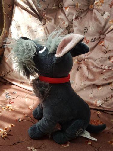 Disney store jock soft plush toy lady and the tramp Scottie dog | eBay
