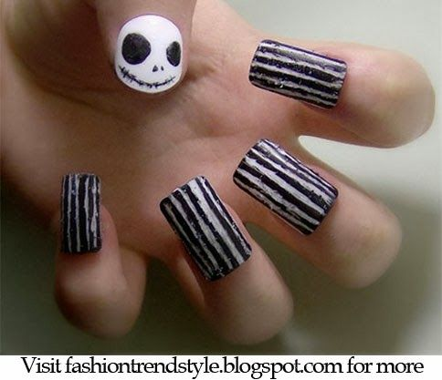 124 best diy nail art images on pinterest nail design cute halloween diy easy nail design video tutorial follow fyb for more tips solutioingenieria Image collections