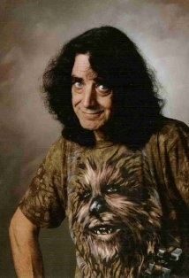 Peter Mayhew, Chewie from Star Wars. Awesome.