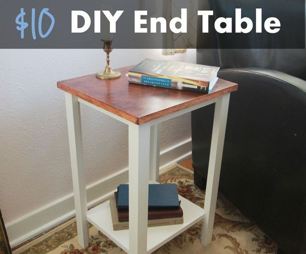 Simple Diy End Table For 10 House Stuff Diy End