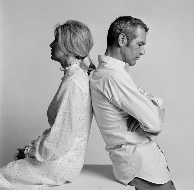 Joanna Woodward and Paul Newman, Los Angeles, 1967