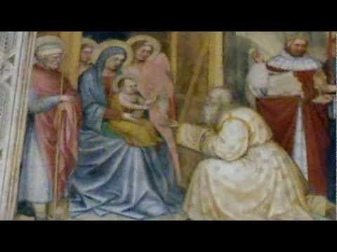 Padova - Gli affreschi dell'Oratorio di San Giorgio - YouTube