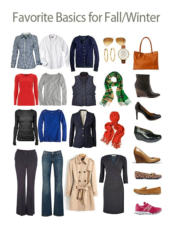 Favorite Wardrobe Basics for Fall and Winter