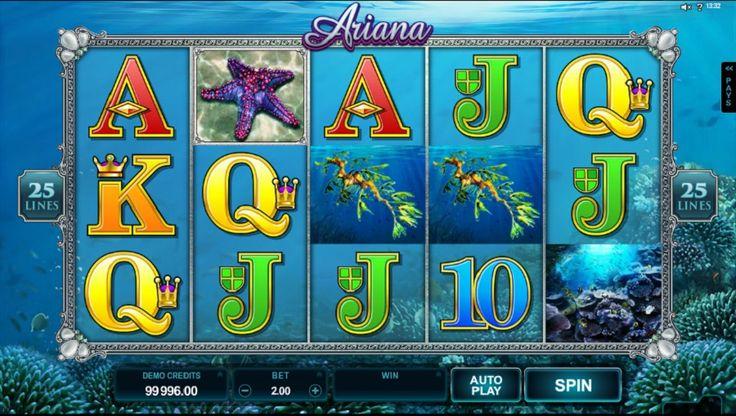 Ariana slot - http://www.tragamonedas-paraiso.com/juegos/ariana-slot