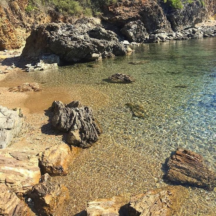"""Buongiorno dalla spiaggia di #felciaio a #capoliveri nello scatto di @lamiky1980. Continuate a taggare le vostre foto con #isoladelbaapp il tag delle vostre vacanze all""""#isoladelba. Visita http://ift.tt/1NHxzN3"""