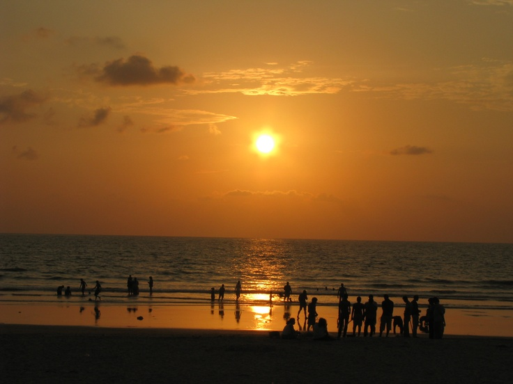 Benaulim Beach , Goa , India