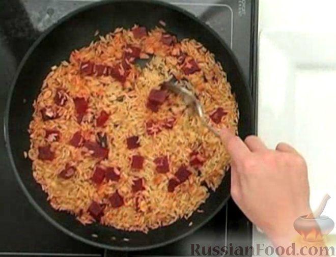 Фото приготовления рецепта: Рис басмати со свеклой - шаг №6