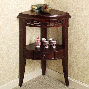 Aruza Corner Accent Table