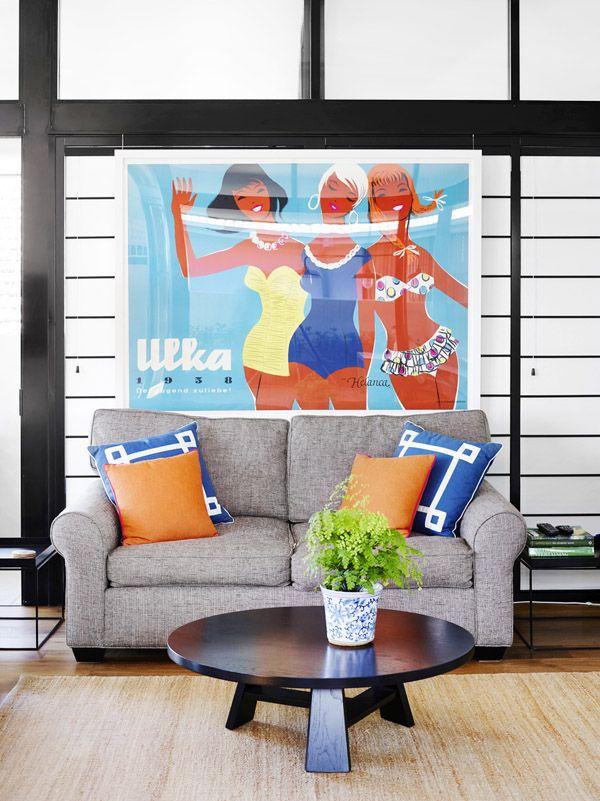 Claire Stevens And Hamish McIntosh Girls ApartmentVintage Living
