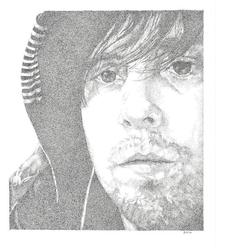 Chad - www.sereninspired.com - pointillism
