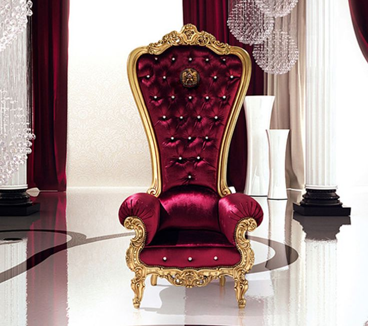 Delightful The Throne Armchair By Italian Furniture Company Caspani Will Make You Feel  Like A King Or Queen In Your Castle. It Boasts An Extra High Back And A  High End