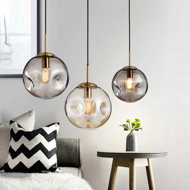 Nordic Hanglampen Glas Hanger Lampen Voor Keuken Woonkamer Slaapkamer Home Verlichting Luminaria Lichtpunt Gl Slaapkamer Lampen Slaapkamer Verlichting Hanglamp